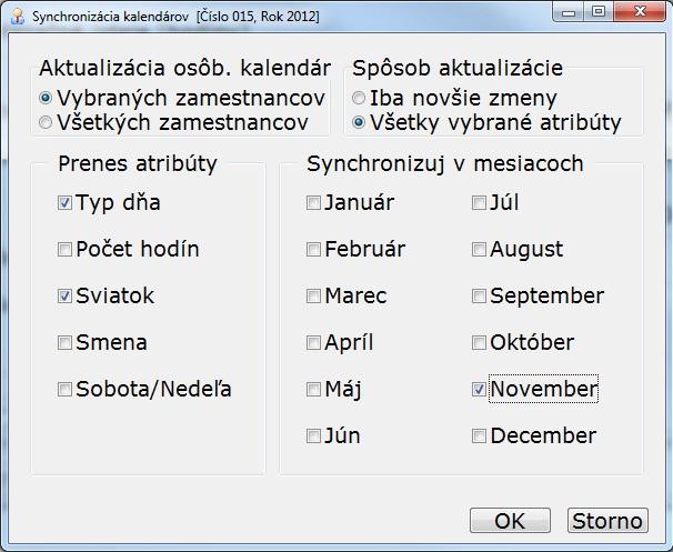 Voľno z dátumové údaje